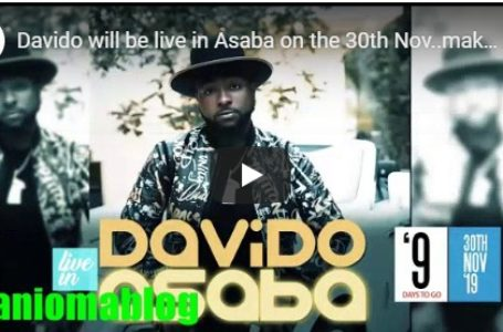(Video)-Davido's Visits To Asaba 30th Nov: Basement Entertainment Audition held @ Viena Hotel Asaba. Delta state.