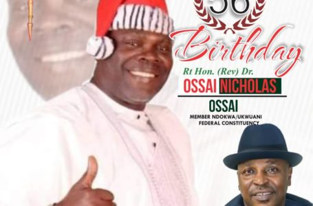 EMETULU HAILS THE LEGISLATIVE MAESTRO, OSSAI @56