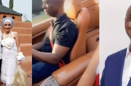 Ned Nwoko Takes His Beautiful Moroccan Wife On A Romantic Ride (Video)