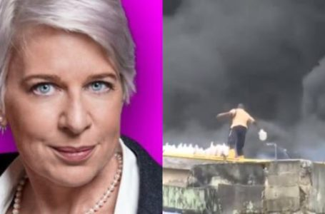 Katie Hopkins mocks Nigerians over man using bucket to quench Balogun market fire