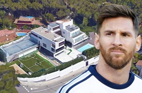 See why airplanes are banned from flying over Messi's house