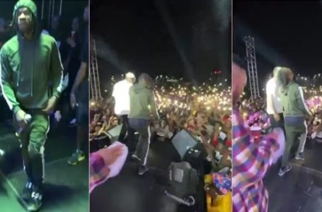 Naira Marley wows fans, shuts down Abuja with his magical Legwork (Video)