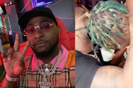 """{VIDEO} """"Why do you love me this much David? """" – Zlatan asks after singer Davido gifts him $40k necklace"""