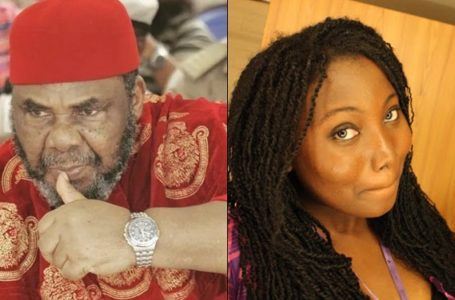 Nigerian lady blasts Pete Edochie, calls him a bad actor