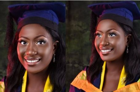 Nigerian Lady who failed her first JAMB, emerges best graduating student with seven awards