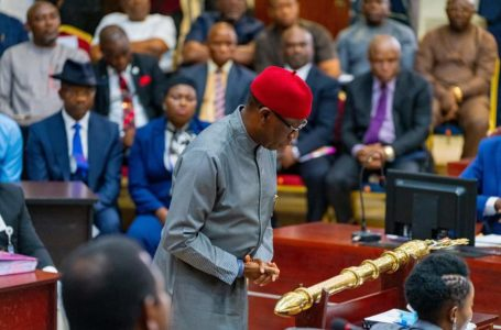 Gov Okowa presents 2020 Budget Proposals