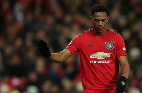 Anthony Martial Set To Return From Injury Ahead Manchester Derby