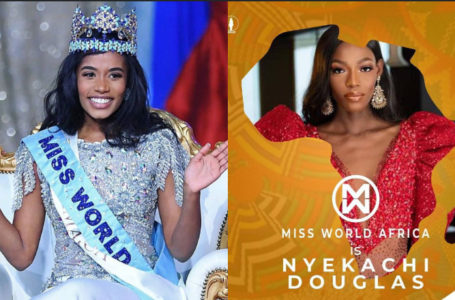 Miss Jamaica, Toni-Ann Singh wins 2019 Miss World and Nyekachi Douglas of Nigeria makes Top 5 & Miss World Africa!