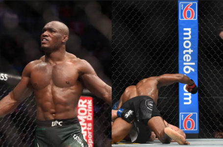 Nigeria's Kamaru Usman knocks out Colby Covington to retain UFC title