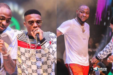 """""""I shouldn't get paid because of Wiz?"""" – Davido quizzes fan that wants him to stop copying Wizkid"""