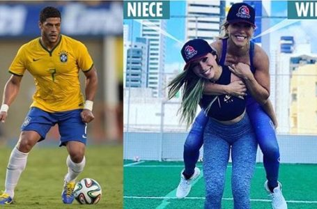 Football: Hulk the Brazilian striker, ended a marriage of 12-years. leaves wife, now dating her niece