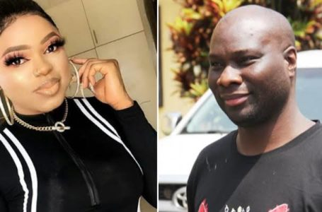The message Mompha sent to Bobrisky after his release (Photo)