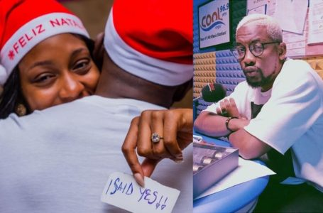 """I didn't like Gedoni"" – OAP Dotun speaks after Khafi and Gedoni's engagement"