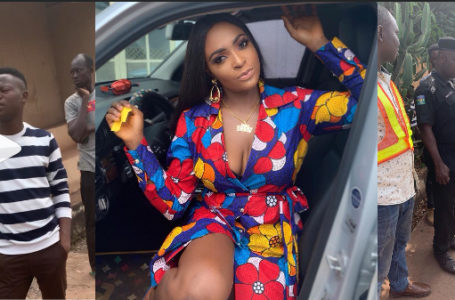 """Tacha just sent some men to assassinate me"" – Blessing Okoro cries out on social media"