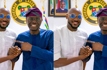 2face Idibia has paid a visit to the Lagos state governor, Jide Sanwo-Olu to invite him to his 20years a king concert.