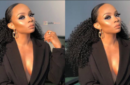 Toke Makinwa rants uncontrollably about cheating in a relationship