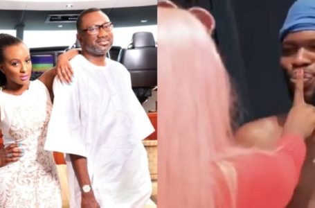 Femi Otedola reveals the man he wants DJ Cuppy to marry after she kissed Broda Shaggi (Photo)