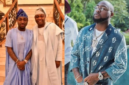 'I'm very proud of you as your dad', Davido's father sends him a message following a successful show