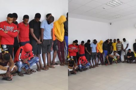 How 29 yahoo boys were arrested in Imo state (photos)