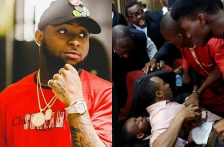 'Justice slowly becoming a thing of the past in our country', Davido reacts to video showing Sowore's alleged forceful re-arrest