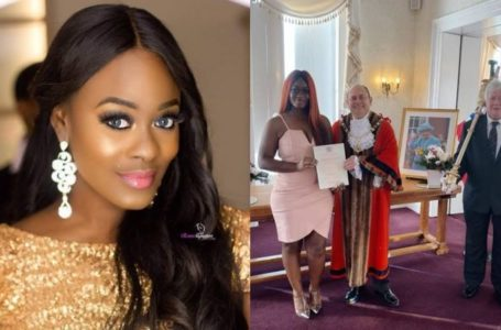 Uriel sends message to men proposing to her – They suddenly fell in love with me because of a British passport (Photos)