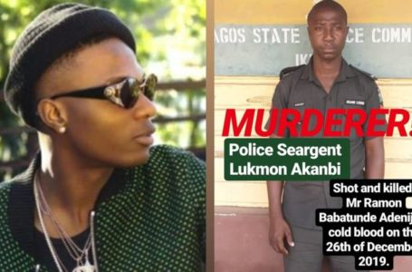 Wizkid calls for justice reacts to a police shooting, killing of his fan