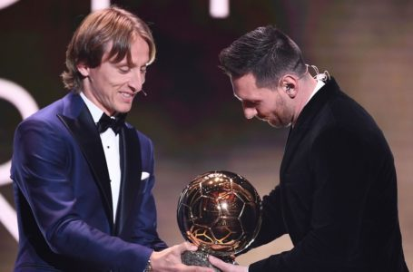 See what Messi said after he beat Cristiano Ronaldo to win 6th Ballon d'Or