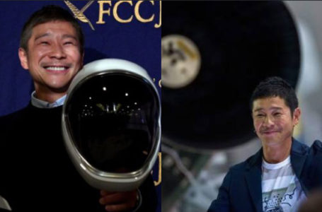 "Japanese billionaire currently looking for a ""girlfriend"" to fly with to the moon – Here's how to apply!"