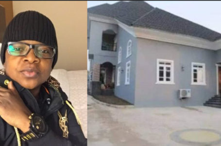 Fans congratulate Actor Chinedu Ikedieze for his new mansion