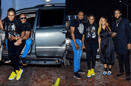 E-Money & Kcee gifted Junior Pope with a Lexus GX470  (photos)