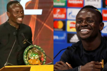 CAF names Sadio Mane as African Footballer of the year – See full list of winners