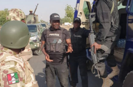 Soldiers open fire on SARS operatives who are at war with Boko Haram