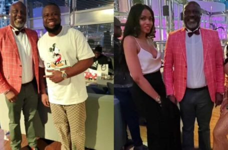 Photos of Sen. Dino Melaye's birthday dinner in Dubai (Video)
