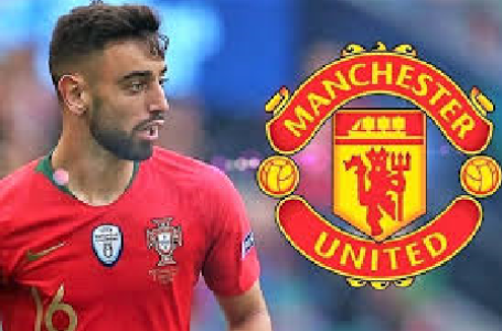 Bruno Fernandes signs a five-year deal contract with Man United