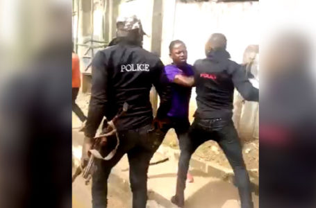 "Justice for ""JUSTICE OBASI"": The Three Police Officers have been Arrested for Beating Up Bus Passenger, Confiscating His Phone In Enugu"