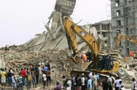 Breaking: Two-Story Building Has Collapsed In Lagos Island Today