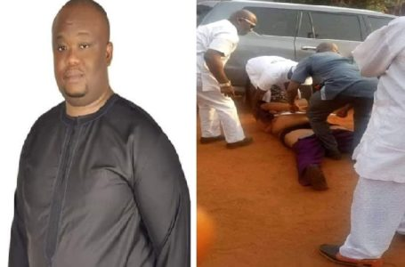 Breaking: Imo politician shot by his security aide