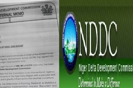 NDDC Acting Managing Director at Loggerhead with NASS over budget implementation