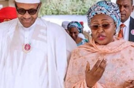 Buhari, Aisha message to Garba Shehu