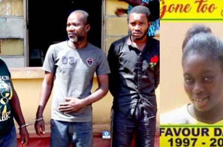 Police dig out body of LASU student who was killed and eaten for rituals, suspects reveal how she was killed