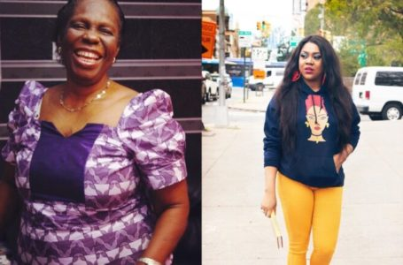 Stella Damasus is left heartbroken after she lost her mother-in-law
