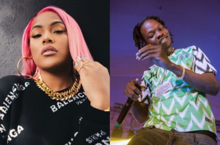 Burna Boy's Girlfriend, Stefflon Don falls in LOVE with Naira Marley's song, 'Tesumole'