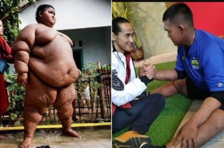 'World's fattest child' transformed after losing more than 30 stone