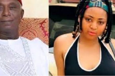 Baby why are you so serious? – Regina Daniels queries her hubby (Watch Video)