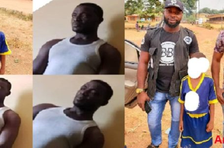 HYMEN BROKEN: I DIDN'T RELEASE INSIDE HER, 30-YEAR OLD PAEDOPHILE IN ANAMBRA STATE. – (Video)