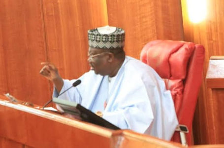 Senate President Ahmad Lawan Commiserates With Yobe Fire Accident Victims