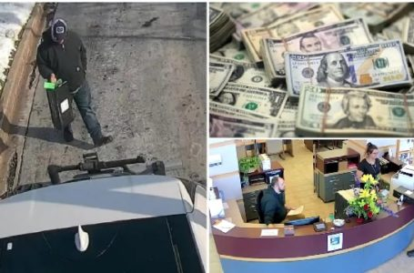 A man saw $27,000 (N9,760,500) cash outside a bank and takes it inside the bank to return it