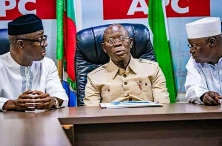 'APC will not rule forever,' – Oshiomhole