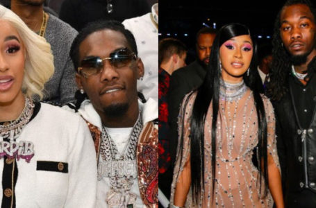 "Cardi B's Husband ""Offset"" punches man who threw a drink at Cardi B (Video)"