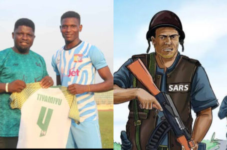 How SARS officers kill Nigerian professional football player who plays for Remo Stars